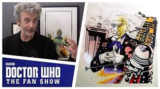 Target Book Exhibition ft. Peter Capaldi - Doctor Who The Fan Show