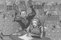 Master, Marlowe, & Daleks