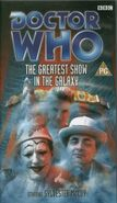 The Greatest Show in the Galaxy VHS UK cover