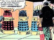 Dr. Who and the Daleks comic