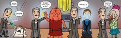 Clara Birthday Comic Back Up Story