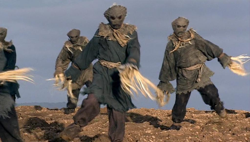 Animated Scarecrow Human Nature Tardis Fandom