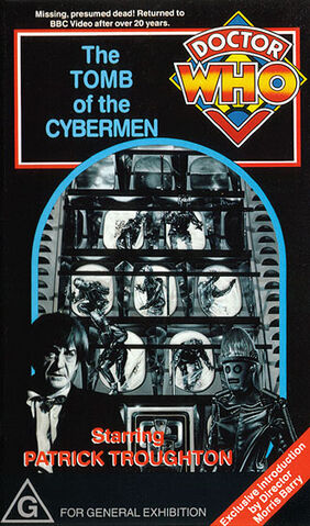 File:The Tomb of the Cybermen VHS Australian cover.jpg