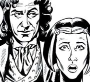 DWM 257 Tooth & Claw The Doctor and Izzy
