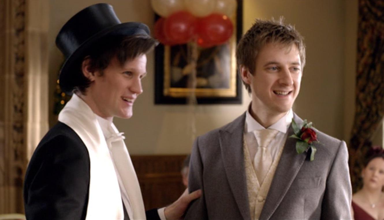 Amy Pond And Rory Wedding