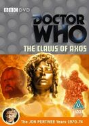 The Claws of Axos DVD UK cover