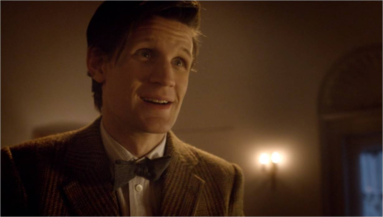 Tenth Doctor Smiling The Doctor realises he s been