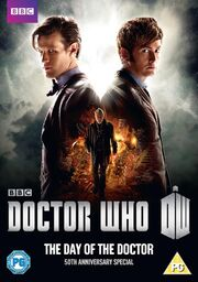 The Day of the Doctor UK DVD Cover