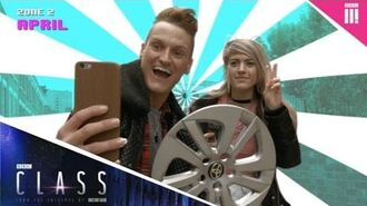 Snaphunt for the cast of Class w Marina Joyce, Monstah and more! - BBC Three