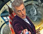 The Twelfth Doctor faces a Weeping Angel