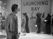 Launching bay