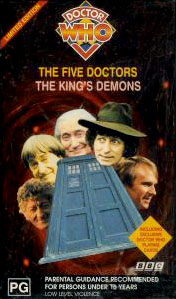 File:The Five Doctors & The King's Demons 1997 VHS Au.jpg