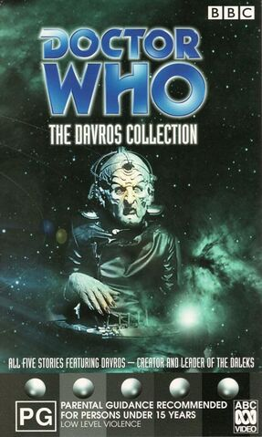 File:The Davros Collection VHS Australian cover.jpg