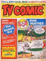 TV Comic 1414 Front Cover
