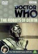 The Robots of Death DVD UK cover