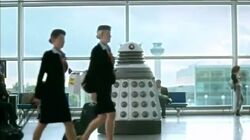 Supreme Dalek in Airport