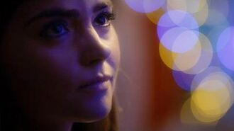 Clara Says Goodbye To Danny Pink - Last Christmas - Doctor Who - BBC
