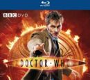 Doctor Who Blu-ray covers