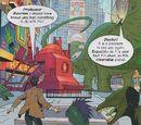 Dinosaurs in New York! (comic story)