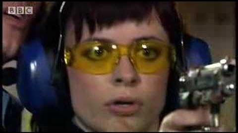 Gun practice - Torchwood - BBC