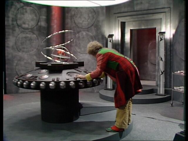 File:The Doctor in the Rani's TARDIS.jpg