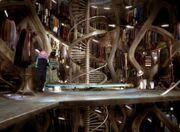 TARDIS wardrobe room
