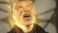 War Doctor turns into Eccleston