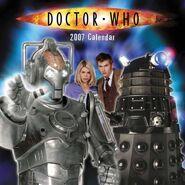 2007 Doctor Who Calendar