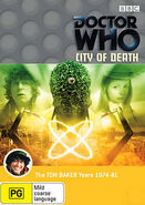 City of Death DVD Australian cover