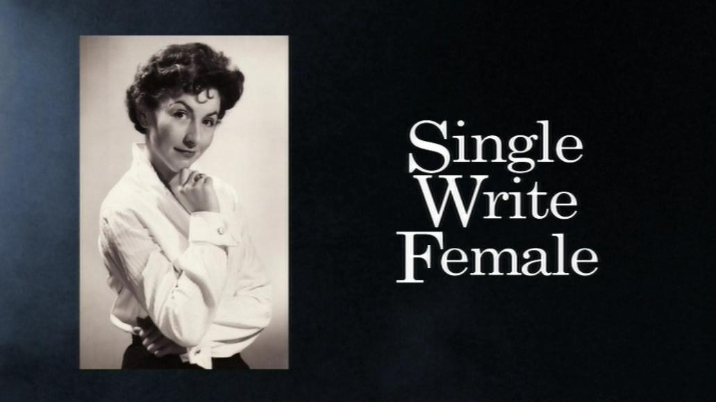 Single Write Female