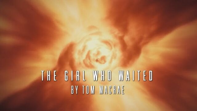 File:The Girl Who Waited - Title Card.jpg