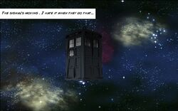 The Fuel TARDIS in void