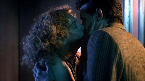 First & last kiss with River Song - Doctor Who - Day of the Moon - Series 6 - BBC