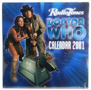 2001 Doctor Who Calendar