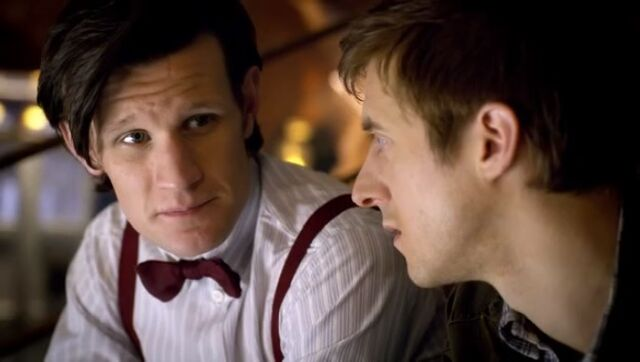 File:The Doctor in Melancholy after losing older Amy.jpg