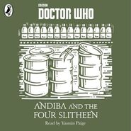 Andiba and the Four Slitheen audiobook cover