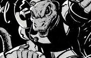 Dr Who The Stolen TARDIS Lizard-