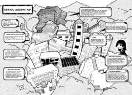 Seikyou Academy Map