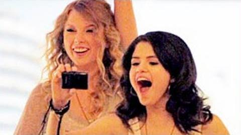 Taylor Swift Laughs At Justin Bieber