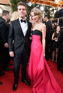 Taylor and Austin At The Golden Globe Awards 2014