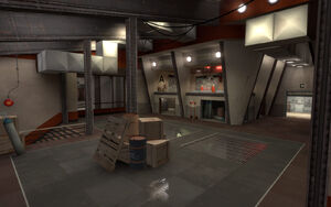 Junction overlooking control point A TF2