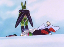 Cell in Gohan's nightmare