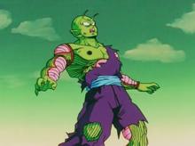 Piccolo shot by Freeza