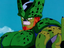 Cell about to kill Tien