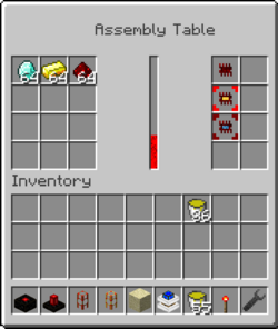 Assembly Table GUI