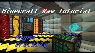 Minecraft Raw Tutorial - Magma Crucible