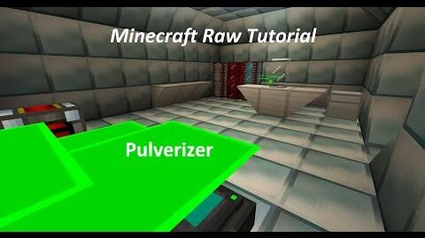 Minecraft Raw Tutorial - Tekkit Edition - Pulverizer