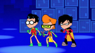 Robins About To Fight Hurt Bot