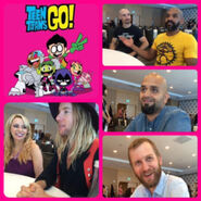 TTG Cast at SDCC 2016