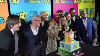 Teen Titans Go! 200 Episodes Red Carpet Producers & Musicians